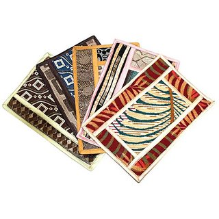 JARS Collections Set of 4 Multicolored Mats