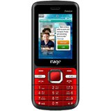Dual SIM Mobile from Rage Freedom (Red & Black Color) with Camera FM Radio