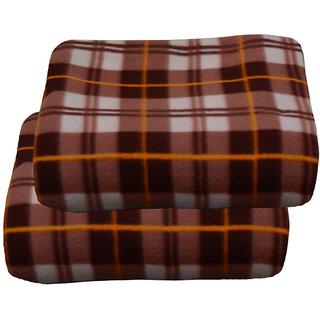 jazz multicolor polyster fleece blanket(buy 1 get 1 free)