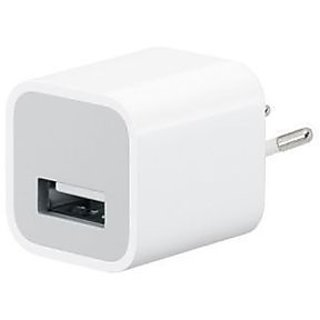 2 PIN USB Wall Charger for Apple iPhone 3GS 4GS iPod 2G 3G 4G