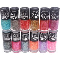V-Color Nail Show Nail Polish Combi of 12 Pcs. (Set # 8)