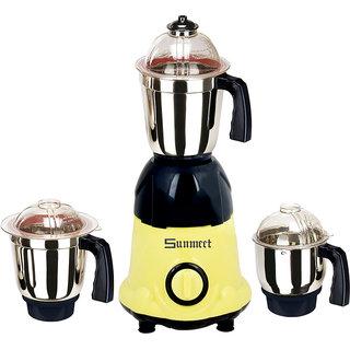 Sunmeet MG16-9 600W 3 Jar Mixer Grinder