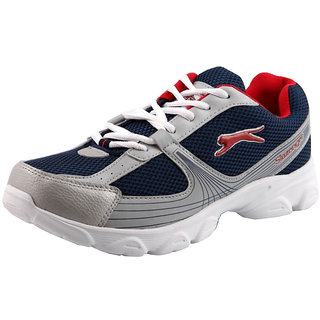 Slazenger Trendy Sports Shoes – Silver & Blue at Rs.768 – Buy at Shopclues.com