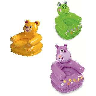 Intex Teddy Bear Cozy Animals Inflatable Chair For Kids