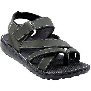 TrustedSnap Sandals For Men (Dark Green)