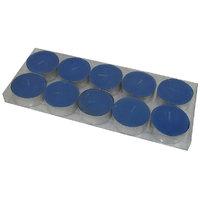 MAV Tea-light Candles (Blue, Pack Of 10)