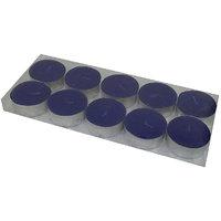 MAV Tea-light Candles (Violet, Pack Of 10)