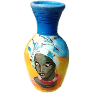 Handmade Decorative Flower Art Pot