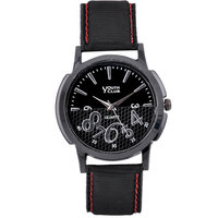Youth Club Basic Black Analog Watch - For Men, Boys YBL-44CNT
