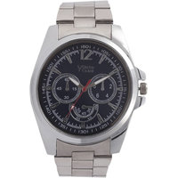 Youth Club Ultimate Chrono Pattern Analog Black Dial Watch-For Men YCS-22BU