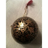 "Decorative Hand Paper Machie  Hanging 3"" Ball (combo Of 3)"
