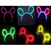 Glow In The Dark Neon Head Bunny Hair Band
