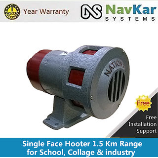 Single Phase Hootter for Industries, School  College 1.5 Km Range