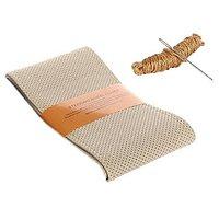 Millionaro Art-Leather Stitching Type Steering Cover for Ashok Leyland Stile-BEIGE with Needle