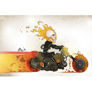 Poster Of The Ghost Rider Animation (CARTOON91)