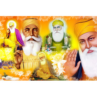 Navya Poster Of Shri Guru Nanak Dev Ji (GOD00053)