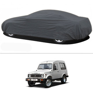 Millionaro - Heavy Duty Double Stiching Car Body Cover For Maruti Suzuki Gypsy