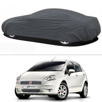 Millionaro - Heavy Duty Double Stiching Car Body Cover For Fiat Punto