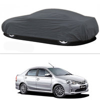 Millionaro - Heavy Duty Double Stiching Car Body Cover For Toyota Etios