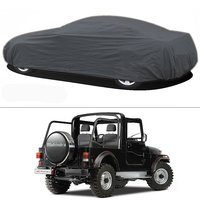 Millionaro - Heavy Duty Double Stiching Car Body Cover For Mahindra Thar