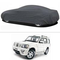 Millionaro - Heavy Duty Double Stiching Car Body Cover For Mahindra Scorpio
