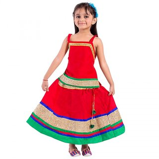 Decot Paradise Rajasthani Traditional Lahanga Choli for girl