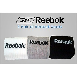 3 pair RBK socks 55% OFF