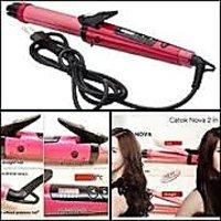 Hair Styles 2 In 1 Hair Straightener/curling Iron Machine BR-4882