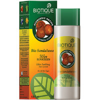 Bio Sandalwood Lotion 50+ Spf Sunscreen For All Skin Types In The Sun Very Water -Resistant 120 Ml