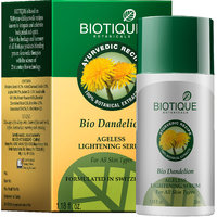 Bio Dandelion Ageless Lightening Serum (For Every Skin Regime Every Day )-35 Ml