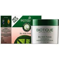Bio Milk Protein Whitening & Rejuvenating Face Pack For All Skin Types -50Gm