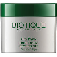 Bio Wave Fresh Body Styling Gel Wet Set For All Hair Types-50 Gm(New)