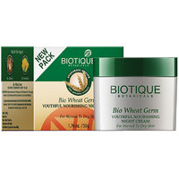 Bio Wheatgerm (Youthful Nourishing Night Cream For Normal To Dry Skin ) 50Gm