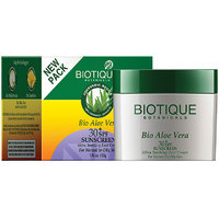 Bio Aloe Vera (30T Spf Sunscreen For Normal To Oily Skin In The Sun 50 Gm)