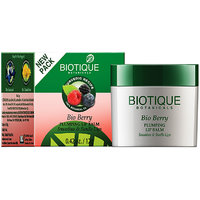 Bio Berry Plumping Lip Balm Smoothes Swells Lips - 12Gm (New)