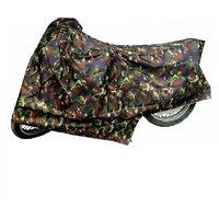 Bull Rider Bike Body Cover with Mirror Pocket for Vespa (Colour Jungle Print)