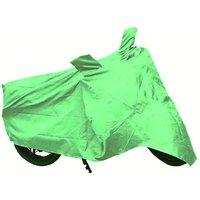 Bull Rider Bike Body Cover with Mirror Pocket for Vespa (Colour Light Green)