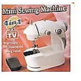 Mini Electric Sewing Machine With Battery / Electricity Power Mode And Pedal