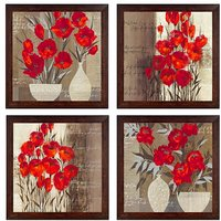 Ray Decor Wall Paintings Set of 4 -SQSET525