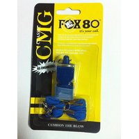 Asfit Fox 80 Pealess Whistle with Lanyard(Blue)
