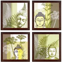 Ray Decor Wall Paintings Set of 4 -SQSET529