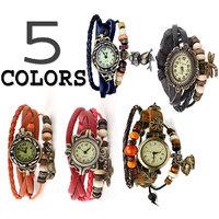 5 colours Women Bracelet Watches