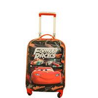 Disney The Car Formula Racers Kids Luggage Trolley Bag