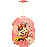Disney Minnie Pink 3D Kids Luggage Trolley Bag