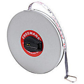 30 Metre Fiberglass Measuring Tape Freemans