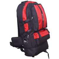 The Golf Club Red,Black Traveling Bagpack - Jumbo