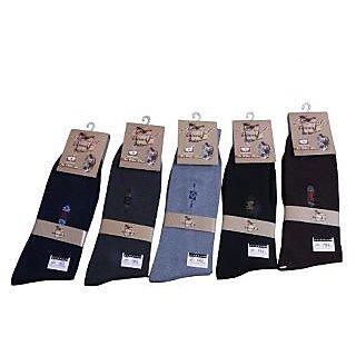 Formal 3 Pairs Designer Mens Fine Fit Premium Cotton Socks
