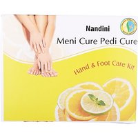 Nandini Herbal Care Menicure Pedicure Kit (120 G, Set Of 3)