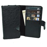 Kits kart Wallet Case Cover for Byond B66 (Black)