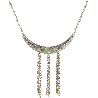 Urthn Graceful White Women Alloy Necklace - 1105418